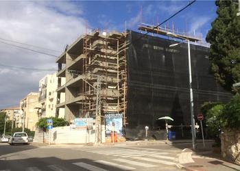 אהרון קרון 21 ראשון לציון- בבנייה