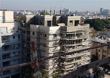 אלי כהן 12 בבנייה